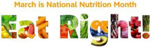 march natl nutrition month