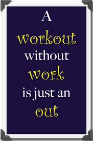 workout without work