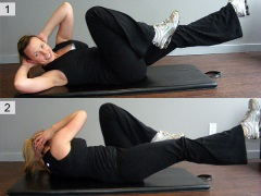 20 Bicycle crunches