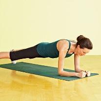 20 second Plank