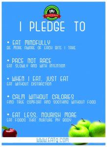I pledge to